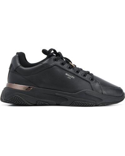 Черные высокие кроссовки на платформе Mallet Footwear