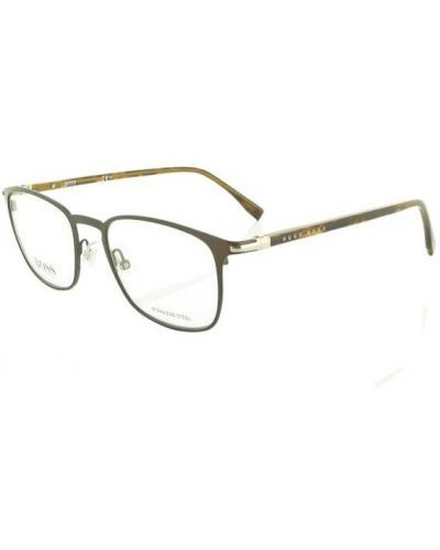 Brązowe okulary Hugo Boss
