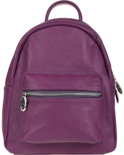 Кожаный рюкзак - фиолетовый Sara Burglar