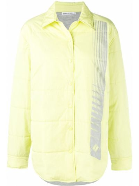 Стеганая куртка - желтая T By Alexander Wang