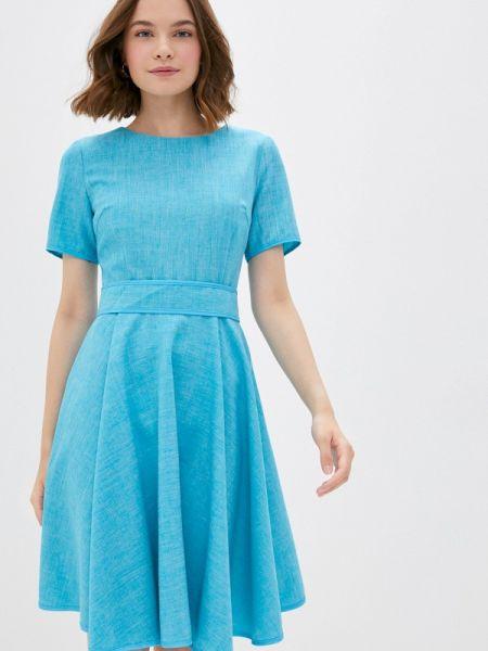 Платье - голубое Maurini