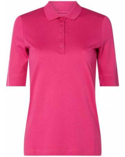 T-shirt bawełniana - różowa Christian Berg Women