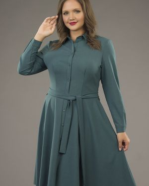 Платье на пуговицах платье-рубашка ангелика