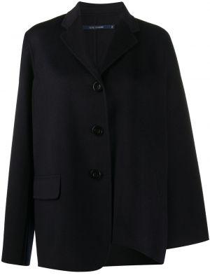 Синее шерстяное пальто оверсайз на пуговицах Sofie D'hoore