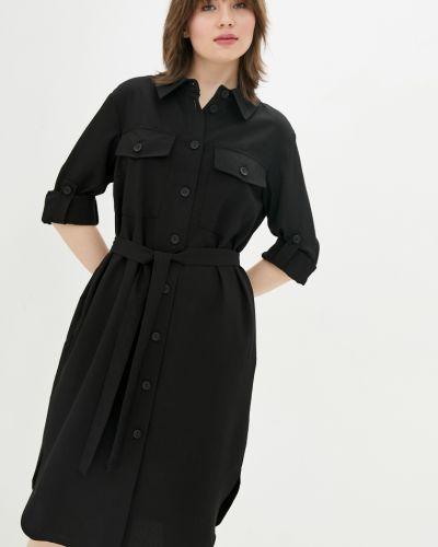 Платье рубашка - черное Danna