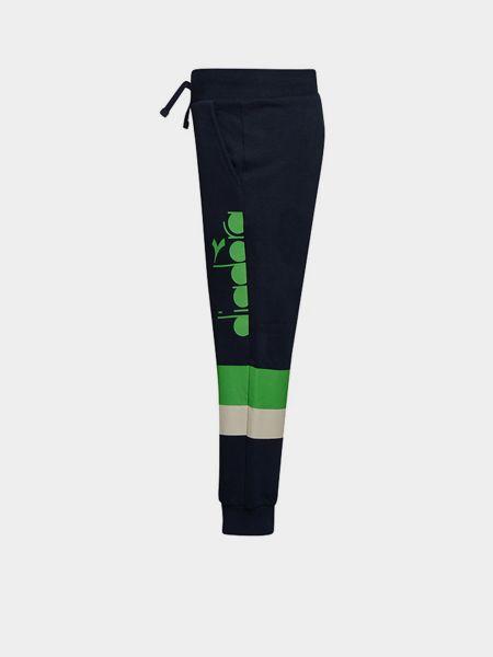 Спортивные брюки - синие Diadora