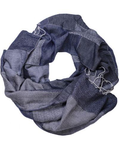 Синий шарф Hugo Boss