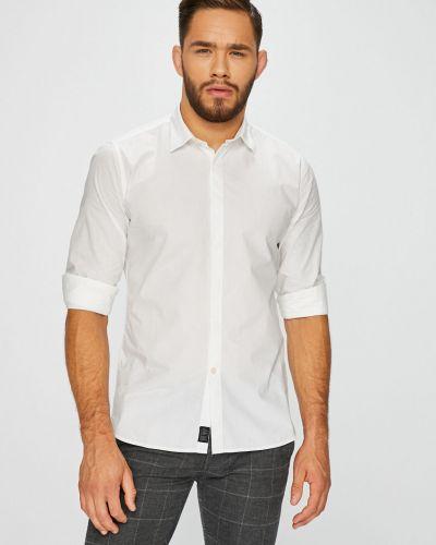 Рубашка с длинным рукавом однотонная хлопковая Pepe Jeans