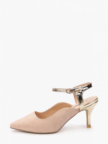 Кожаные туфли с открытой пяткой велюровые Exquily