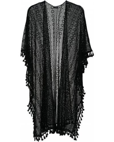 Pareo bawełniany - czarny Top Secret