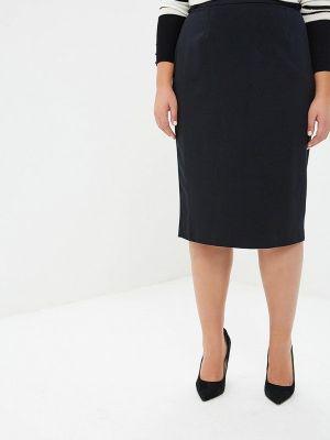 Черная юбка карандаш с рукавом 3/4 Marks & Spencer