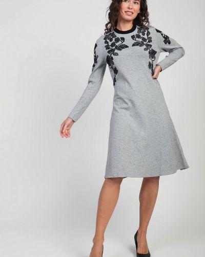 Платье из вискозы Tricot Chic