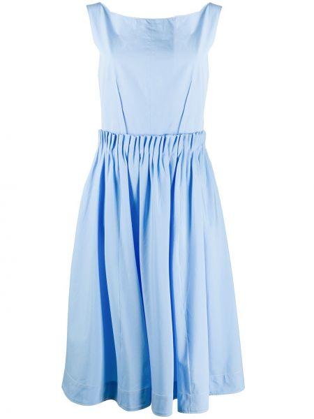 Платье миди с открытой спиной на пуговицах Marni