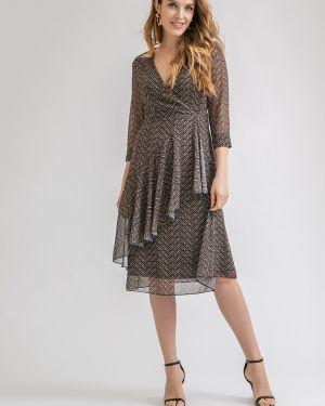 Шифоновое платье миди Emka