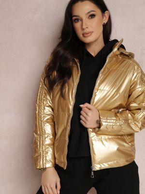 Złota żółta kurtka Renee