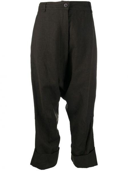 Укороченные брюки - коричневые Rundholz