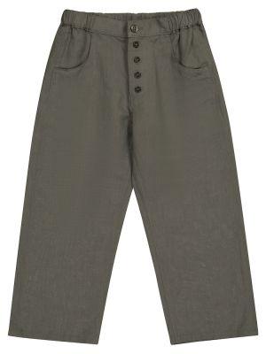 Zielone spodnie bawełniane Caramel