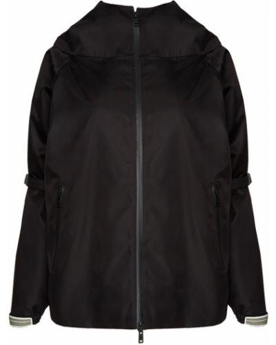 Куртка черная оверсайз Prada