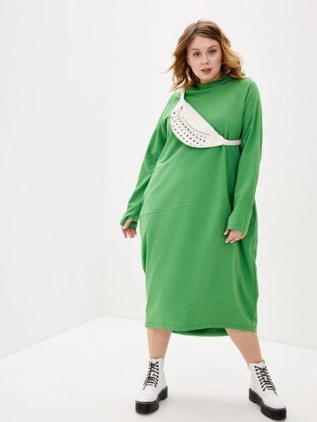 Платье - зеленое Lessismore