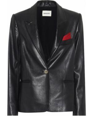 Черный пиджак винтажный Khaite