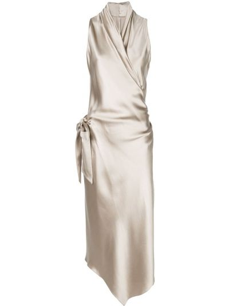Однобортное платье на молнии Peter Cohen