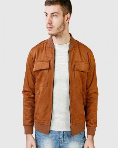 Кожаная куртка - бежевая Figo