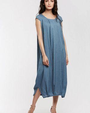 Повседневное платье синее D`imma