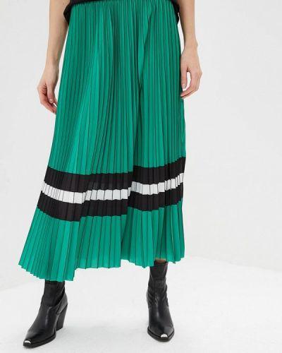 Плиссированная юбка джинсовая зеленый Guess Jeans