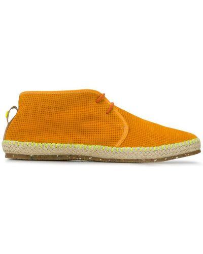 Туфли без каблука - оранжевые Brimarts