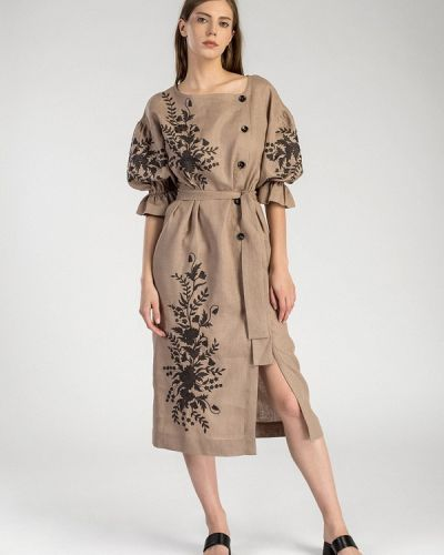 Платье - бежевое Etnodim