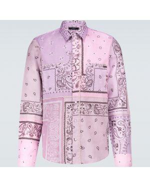 Koszula klasyczna fioletowy długa Amiri