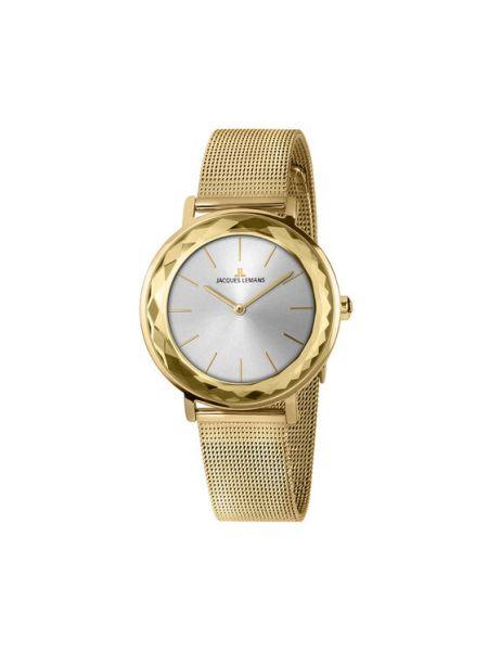 Złoty zegarek Jacques Lemans