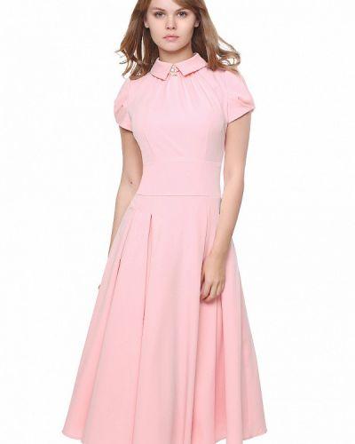 Повседневное платье розовое Marichuell