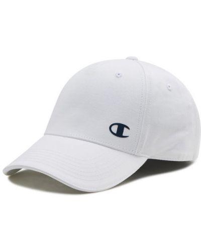 Biała czapka z daszkiem Champion