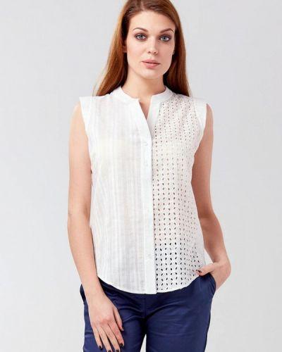Блузка без рукавов белая весенний Ora