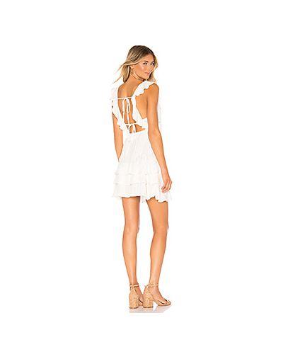 Однобортное платье мини с пайетками с открытой спиной Sundress