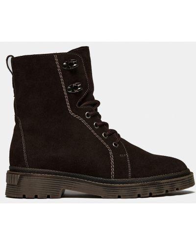 Замшевые ботинки - коричневые Ralf Ringer