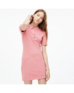 Платье розовое Lacoste