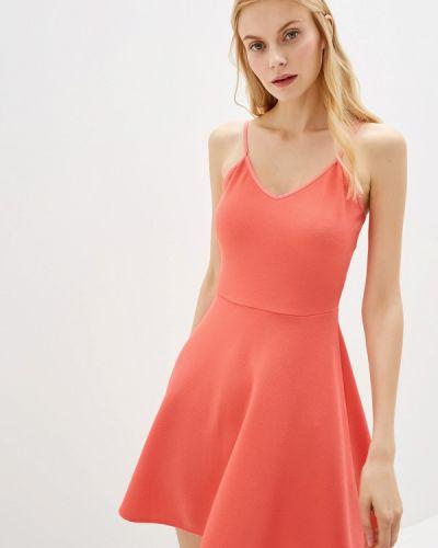 Платье коралловый весеннее Gepur
