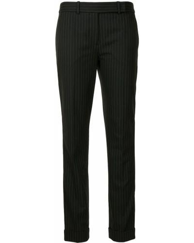 Укороченные брюки - черные Paule Ka