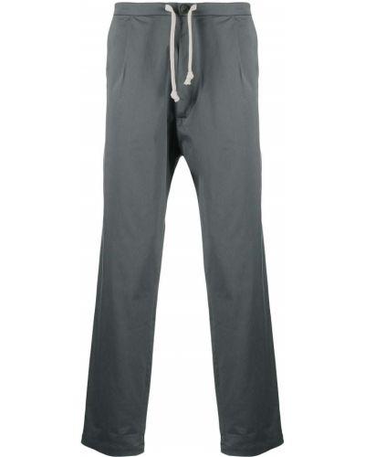 Хлопковые серые брюки с карманами SociÉtÉ Anonyme