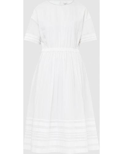 Платье миди - белое Peserico
