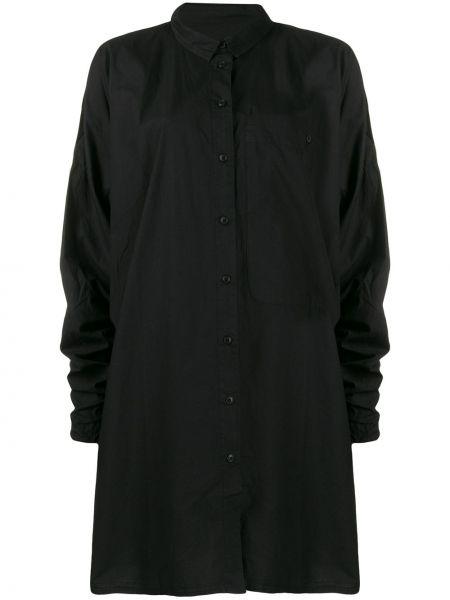 Прямое классическое платье макси с воротником Rundholz Black Label