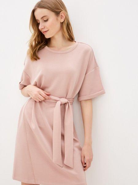 Футбольное розовое платье Sela