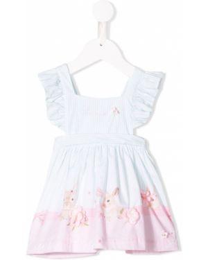 Приталенное платье с рукавами Lapin House