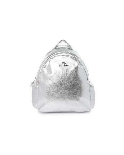 Рюкзак маленький серебряный Katy Perry