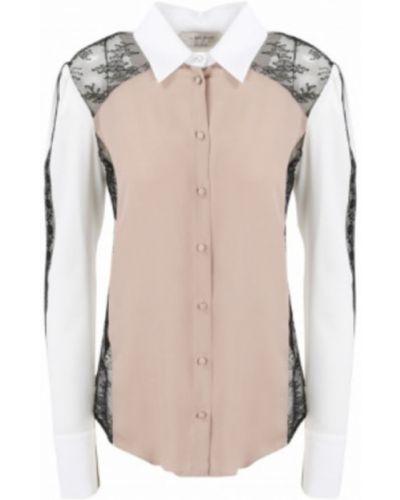 Różowa koszula Anna Molinari