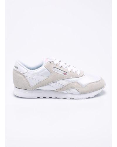 Кроссовки для бега текстильные белый Reebok