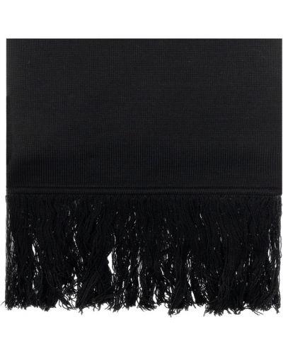 Czarny szalik wełniany Vetements