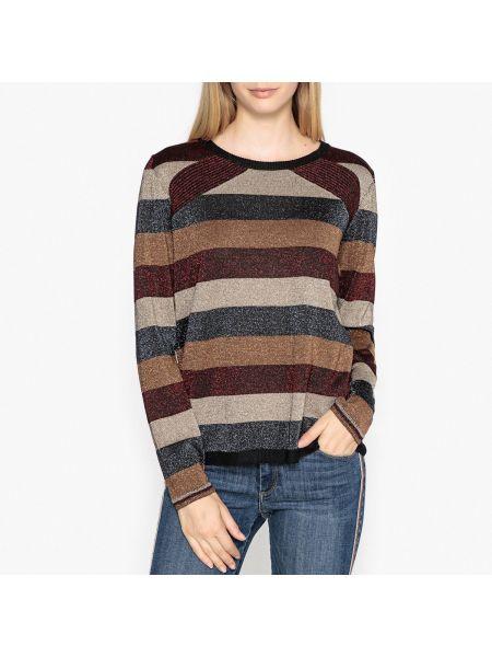 Пуловер в полоску в рубчик Berenice